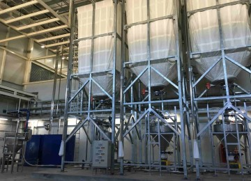 Storage silo - Pneumatic conveying system-min