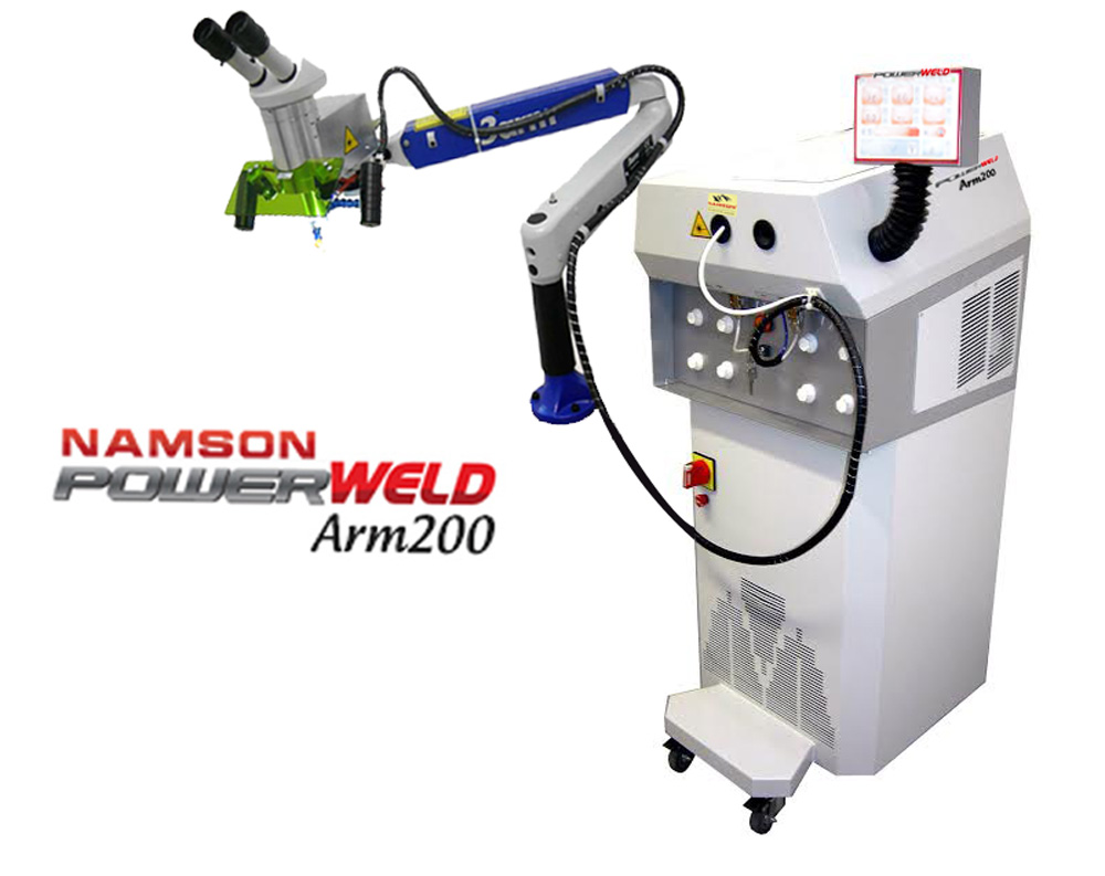 Máy hàn laser Namson PowerWELD Arm200 - Namson PowerWELD Arm200 laser welding machine